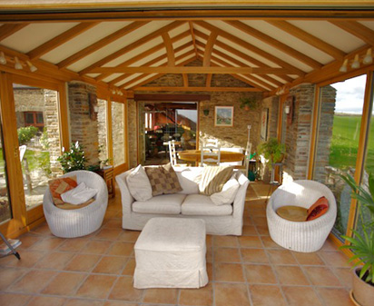 garden room design oak conservatories