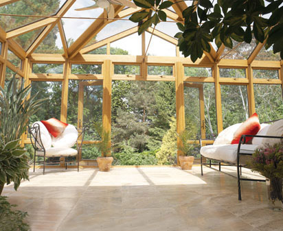 oak gable conservatory design