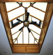richmond oak roof lantern
