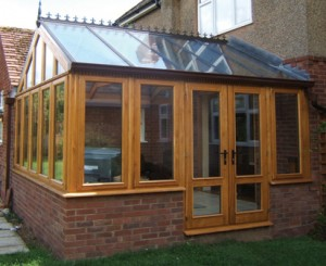 self build conservatory