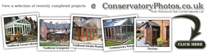 Conservatory Photos from Richmond Oak Conservatories Limited