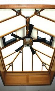 Conservatory Ceiling Fans Oak Conservatories